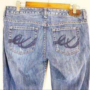 Express Jeans 55285 Blue Denim Jeans Size 8S